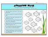Aquarium Math: Numerical Expressions  (5.OA.A.2)