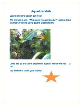 Aquarium Math for the Smart Board