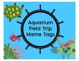 Aquarium Field Trip Name Tags