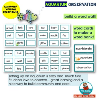 Aquarium Observation | Writing for [Primary Learners]