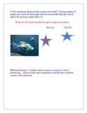Aquarium Parts of Speech using the Smart Board