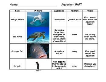 Aquarium RAFT activity
