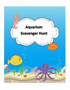 Aquarium Scavenger Hunt - Field Trip
