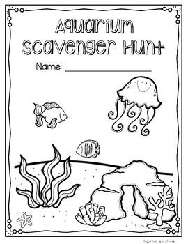Aquarium Scavenger Hunt and Field Trip Notices