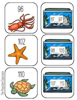 Aquarium Squeeze Game - Build Number Sense!