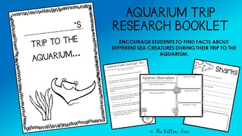 Aquarium Trip Research Book