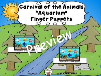 Aquarium from Carnival of the Animals (Finger Puppets)