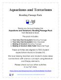 Aquariums and Terrariums: Reading Passage Pack