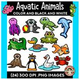 Aquatic Animals Clipart | Squishies Clipart