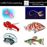 Aquatic Animals (Go-Se) Clip Art - Commerical Use