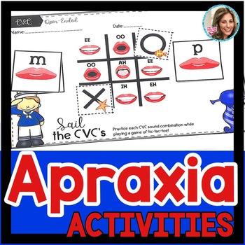 Apraxia   Speech and Language Therapy   Childhood Apraxia   CV Word Activities