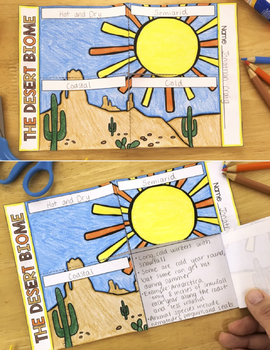 Aquatic Biome and Desert Biome Reading Passages ~ Compare and Contrast