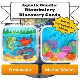 Aquatic Biomes Bundle: Freshwater & Marine Waters Biomimic
