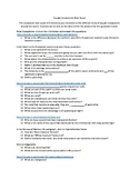 Aquatic Ecosystem Webquest