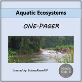 Aquatic Ecosystems One-Pager