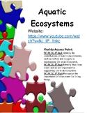Aquatic Ecosystems - study jams