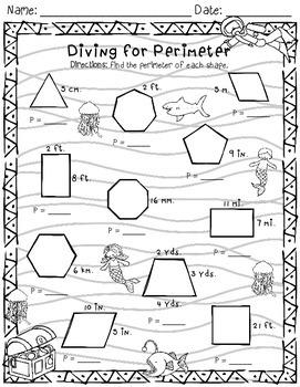Aquatic Perimeter Freebie!