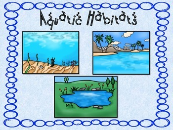 Aquatic-Water Habitats and Food Chains