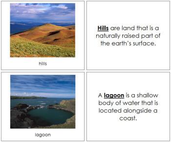 Aquatic and Land Features (Photos) Book - Set 2