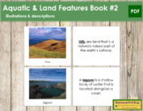 Aquatic and Land Features (Photos) Book - Set 2