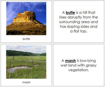 Aquatic and Land Features (Photos) Book - Set 3