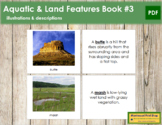 Aquatic and Land Features (Photos) Book - Set 3