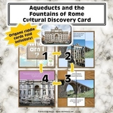 Aqueducts and the Fountains of Rome Cultural Discovery Card Kit