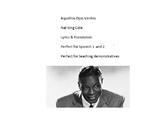 Aquellos Ojos Verdes --  Nat King Cole