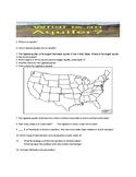 Aquifers Worksheet