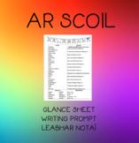 Ar Scoil- Senior Classes Glance Sheet