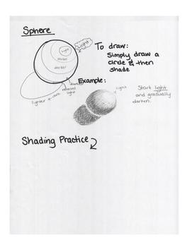 Art Unit- Shape (lessons 4-6) Grade 6