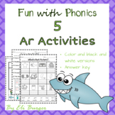 Ar Worksheets- Fun with Phonics!