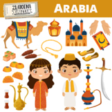 Arabia clipart Arabian clipart Arabic graphics Mosque Moro