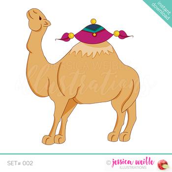 Arabian Camel Clip Art