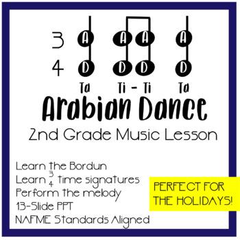 Arabian Dance Nutcracker Music Lesson PPT