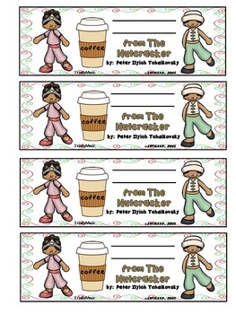 Arabian Dance (from The Nutcracker) Bookmarks
