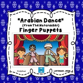 Arabian Dance (from The Nutcracker) Finger Puppets