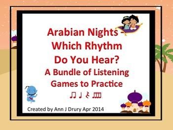 Arabian Nights - A Bundle of Listening Games