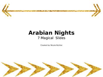 Arabian Nights Template