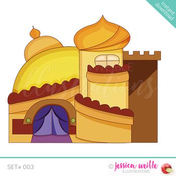 Arabian Palace Clip Art