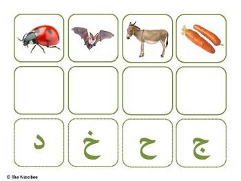 Arabic Alphabet Beginning Letter Sounds