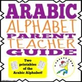 Arabic Alphabet Parent and Teacher Guide {Printable}