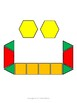 Arabic Alphabets with Pattern Blocks Worksheets