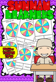 Arabic Clock- To the Hour Clip Cards (sunnah learners)