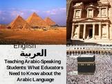 Arabic Language PowerPoint Presentation