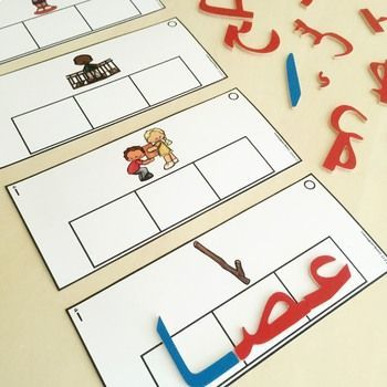 Arabic Letter Forms Build a Word