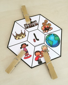 Arabic Letter Forms Clip Cards