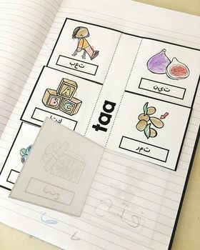 Arabic Letter Forms Flap Books