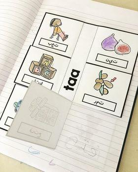 Arabic Letter Forms Flap Books