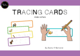 Arabic Letters Tracing Cards